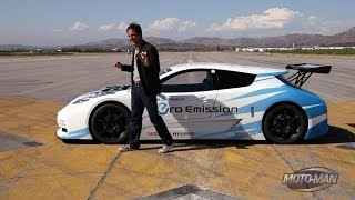 Nissan LEAF NISMO RC - First Drive of an Electric Race Car