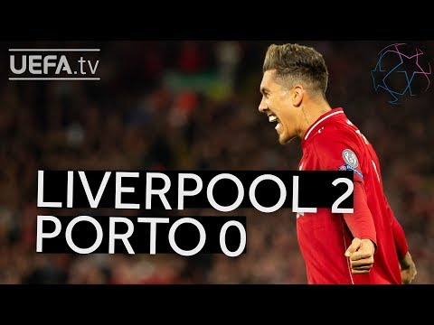 LIVERPOOL 2-0 PORTO #UCL HIGHLIGHTS