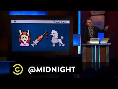 Chris Hardwick @midnight - Sweet Emoji - Sentence Sentiment (Comedy Central)