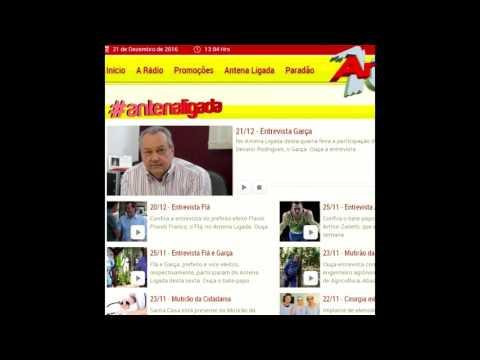 Jales - Garça concede entrevista ao Antena ligada e algumas pessoas destorcem as palavras do vice Prefeito.