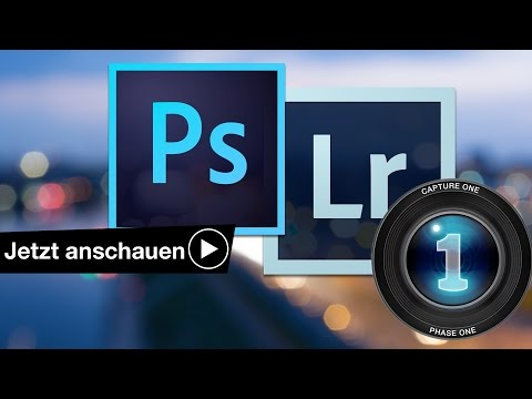 WELCHES BILDBEARBEITUNGSPROGRAMM? PHOTOSHOP LIGHTROOM CAPTURE ONE
