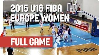 Watch Czech Republic v Slovak Republic from the 2015 U16 European Championship Women in Matosinhos (Portugal) on the...