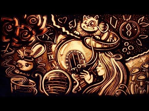 Песочная анимация на День Рождения Софийки
