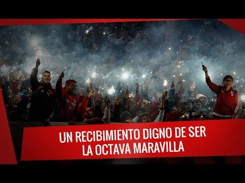 River vs Wilstermann un recibimiento Monumental - Los Borrachos del Tablón - River Plate - Argentina - América del Sur