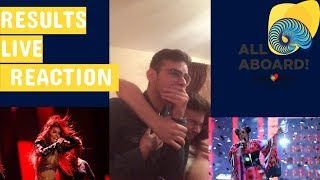 Video EUROVISION 2018 TELEVOTING RESULTS LIVE REACTION FROM GREECE MP3, 3GP, MP4, WEBM, AVI, FLV Mei 2018
