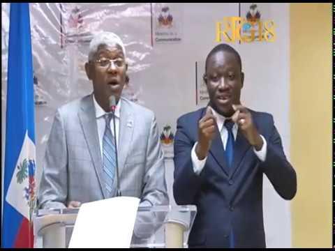 Haïti.- L'intervention du directeur général de l'OFATMA, Dr. Agabus Joseph