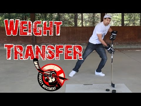Weight Transfer Explained – Hockey shooting principles – Complete Shot 4