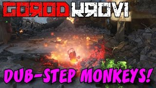 Black Ops 3 Zombies: GOROD KROVI Tutorial • How to Get Upgraded DUB-STEP Monkey Bombs!