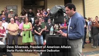 Starke (FL) United States  city images : The Atheist Viewpoint, Ep. 904 - Starke, Florida Monument Dedication Part 1