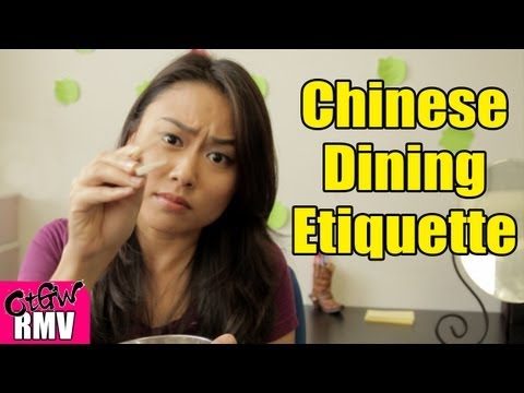 dining - What are the proper ways to eat a Chinese meal? We give you 8 Chinese dining etiquettes. Chopsticks vs. Forks: http://e.ntd.tv/113JbpJ EPIC Fight to Pay the ...