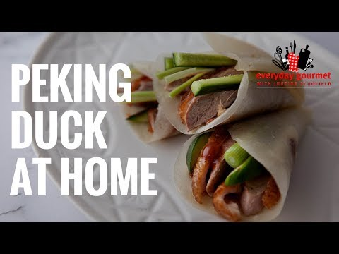 Luv-A-Duck Peking Duck at Home | Everyday Gourmet S6 EP54