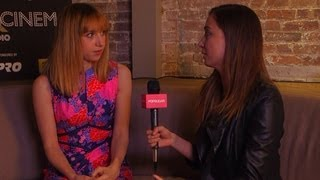 Nonton Zoe Kazan On The Pretty One And Working With Jake Johnson   Tribeca Film Festival Film Subtitle Indonesia Streaming Movie Download