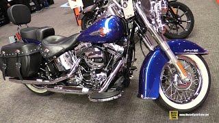 7. 2017 Harley Davidson Heritage Softail Classic - Walkaround - 2017 Toronto Motorcycle Show