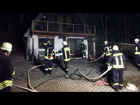 Diemelsee: Brand in Ferienhaus