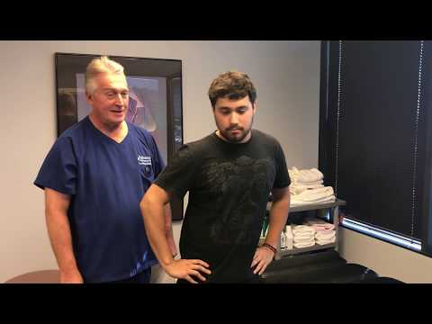 Severe Lower Back Pain With Lumbo-Sacral Radiculopaty Antalgic Posture First Adjustment