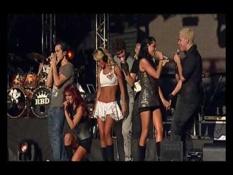 Tekst piosenki RBD - Extrana Sensacion po polsku