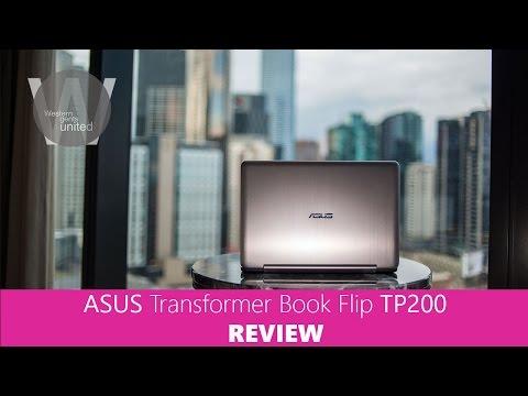 ASUS Transformer Book Flip TP200 2 in 1 REVIEW