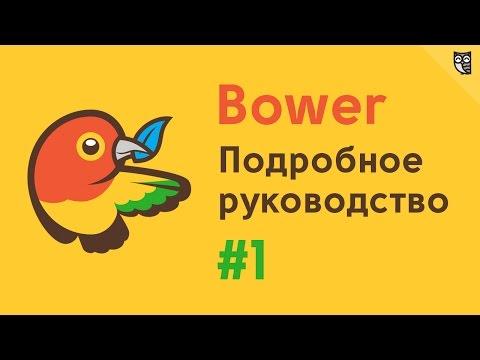 Подробное руководство по Bower