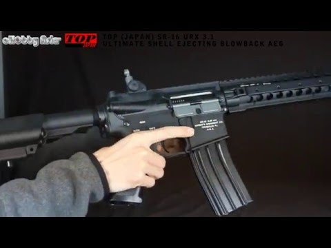 TOP (Japan) SR-16 URX 3.1 Ultimate Shell Ejecting Blowback AEG