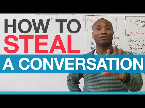 Conversation Skills - How to STEAL a conversation