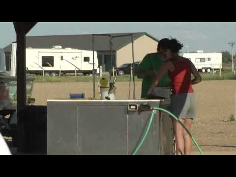 Public Fish Cleaning Stations on Devils Lake