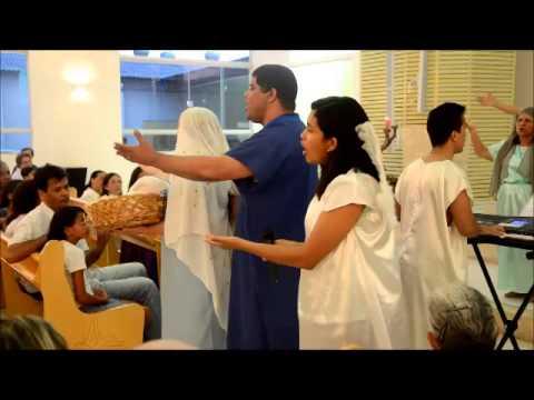 Cantata do Natal na Paróquia Santa Rita de Cássia