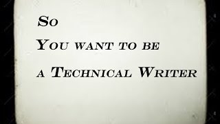 Technical writer from home