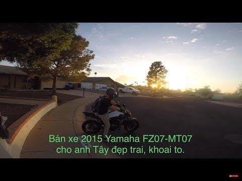 MVlog 59: Bán chiếc 2015 Yamaha MT07 cho anh Tây đẹp trai, khoai to với giá chỉ 110 triệu - Thời lượng: 28 phút.