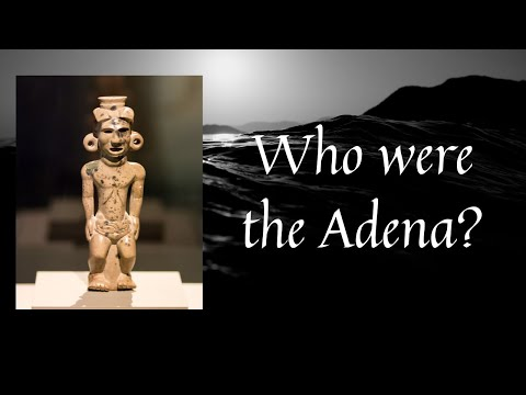 Who were the Adena Mound Builders of North America?