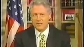 Bill Clinton and Network Marketing