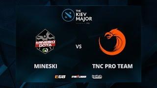 Mineski vs TNC, Game 1, The Kiev Major SEA Main Qualifiers Play-off