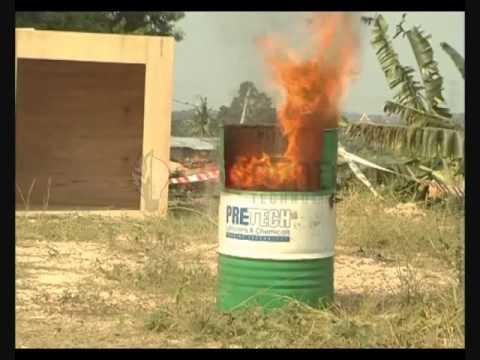 Soteria İle Yanıcı Sıvı Yangınına Müdahale (B Sınıfı)