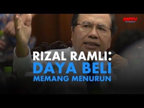 Rizal Ramli: Daya Beli Memang Menurun!