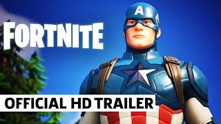 Fortnite - Official Captain America Teaser by GameSpot