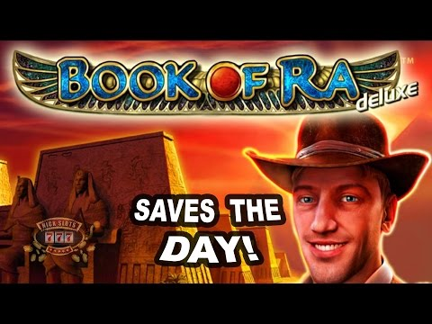 HUGE WIN on Book of Ra Slot - 4 Bet!