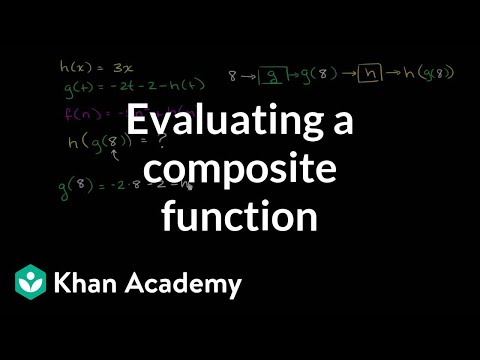 Evaluating composite functions (advanced) (video) | Khan Academy