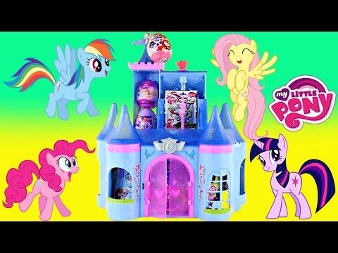 Surprise Egg Castle - Frozen Blind Bags My Little Pony Huevos Sorpresa Princesa de Disney Toys
