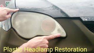 Video Plastic Headlamp Restoration Headlights Cover Blur Proton Gen 2 Persona Similar Saga   Cars MP3, 3GP, MP4, WEBM, AVI, FLV Oktober 2018