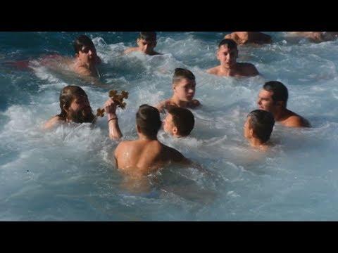 H εορτή των Θεοφανείων στο Nαύπλιο