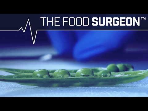 The Food Surgeon Organ Harvesting of a Sugar Snap