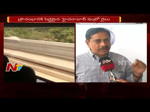 Hyderabad Metro MD NVS Reddy Face to Face over Metro Train Ticket Price