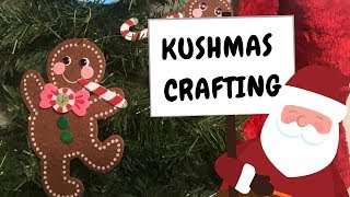 Getting Baked and Making Gingerbread Men Ornaments by Chronic Crafter