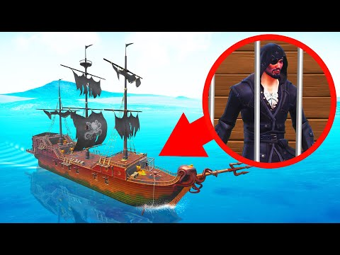 ESCAPE From The PIRATE Ship To SURVIVE! (Fortnite) - Thời lượng: 12 phút.