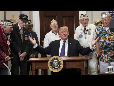 Trump declares Pearl Harbor Remembrance Day