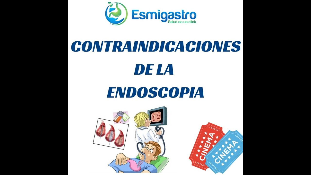 Contra indicaciones de la endoscopia