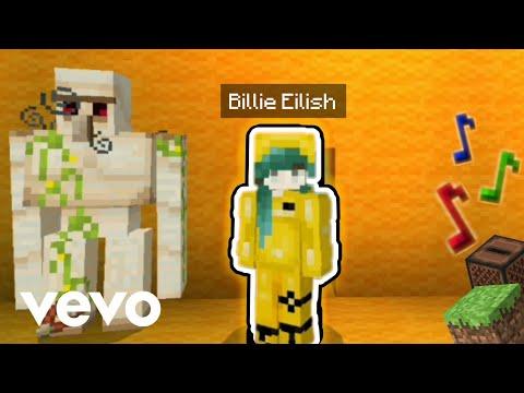 Billie Eilish - bad guy   Minecraft Music Video