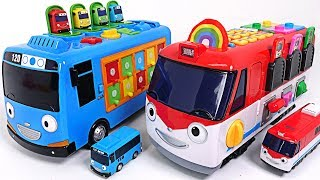 Video Dinosaurs broke the road! Talking Edu Train Titipo and Smart Bus Tayo are Going - PinkyPopTOY MP3, 3GP, MP4, WEBM, AVI, FLV Juni 2018