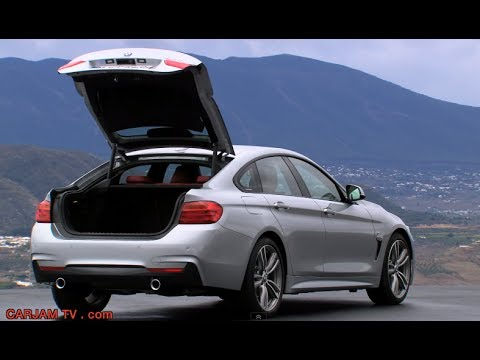 BMW 4 Series Gran Coupé Trunk Auto Boot Opening Commercial HD CARJAM TV 2014 BMW 4 Series Review