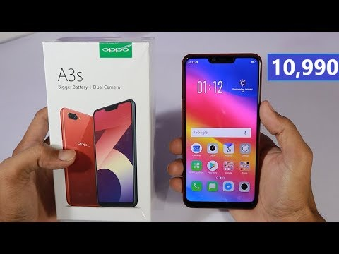 Oppo A3s Unboxing And Hands On Review In Hindi