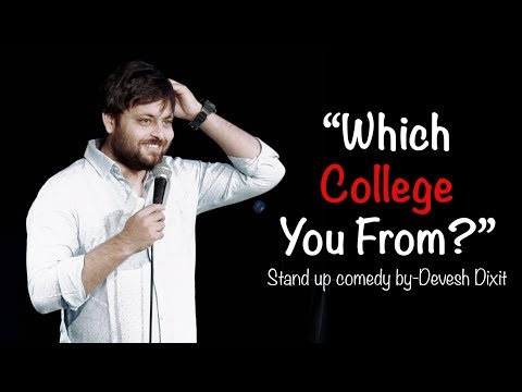 """""""Which College You From?"""" 